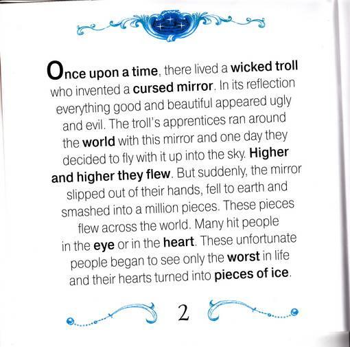 Иллюстрация 1 из 6 для Снежная Королева (англ. +CD) - Victoria Brudenell | Лабиринт - книги. Источник: Oльга