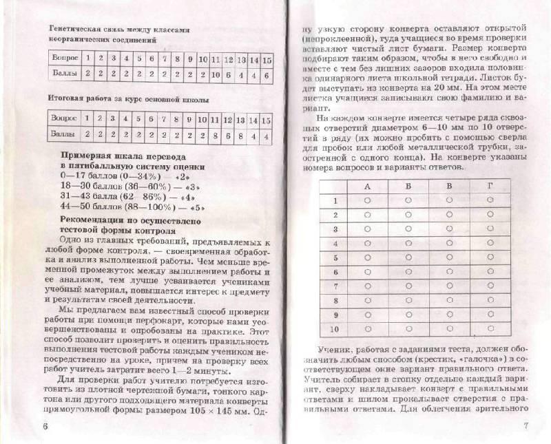 Онлайн контрольные и самостоятельные работы по химии к учебнику о.с габриелян химия 9 класс