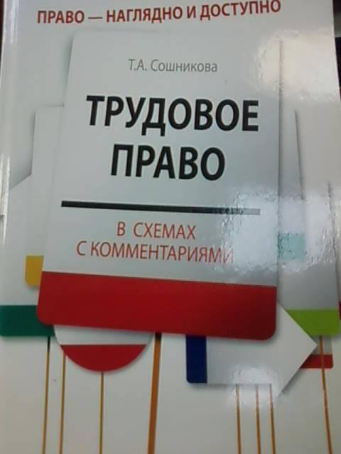 Иллюстрация 1 из 5 для Трудовое право в схемах с комментариями - Тамара Сошникова | Лабиринт - книги. Источник: lettrice