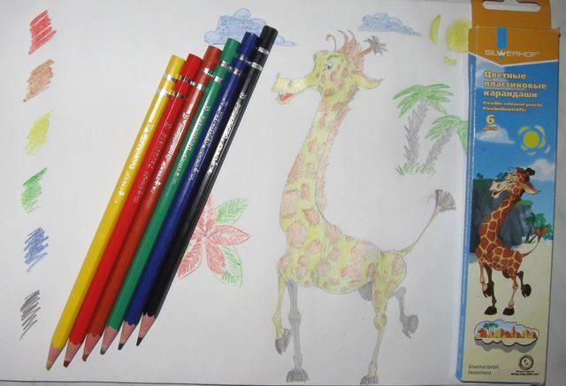 """Иллюстрация 1 из 2 для Карандаши 6 цветов пластиковые """"Zanzibar"""" (130629-04)   Лабиринт - канцтовы. Источник: МаРысь"""