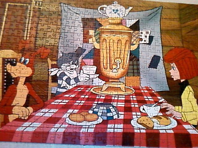 Иллюстрация 1 из 2 для Puzzle-500. Простоквашино (B-50029) | Лабиринт - игрушки. Источник: Трофимук  Игорь Николаевич