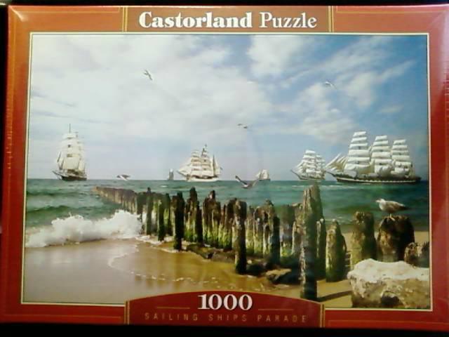 Иллюстрация 1 из 2 для Puzzle-1000. Парад парусников (С-101665) | Лабиринт - игрушки. Источник: lettrice