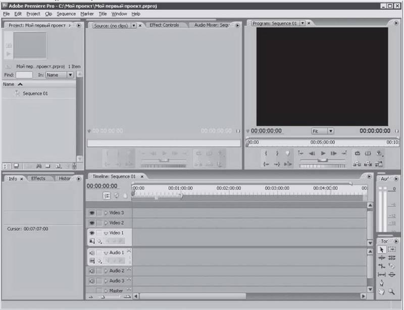 Иллюстрация 1 из 8 для Видеосамоучитель монтажа домашнего видео в Adobe Premiere Pro CS3 (+CD) - А. Днепров   Лабиринт - книги. Источник: Ялина