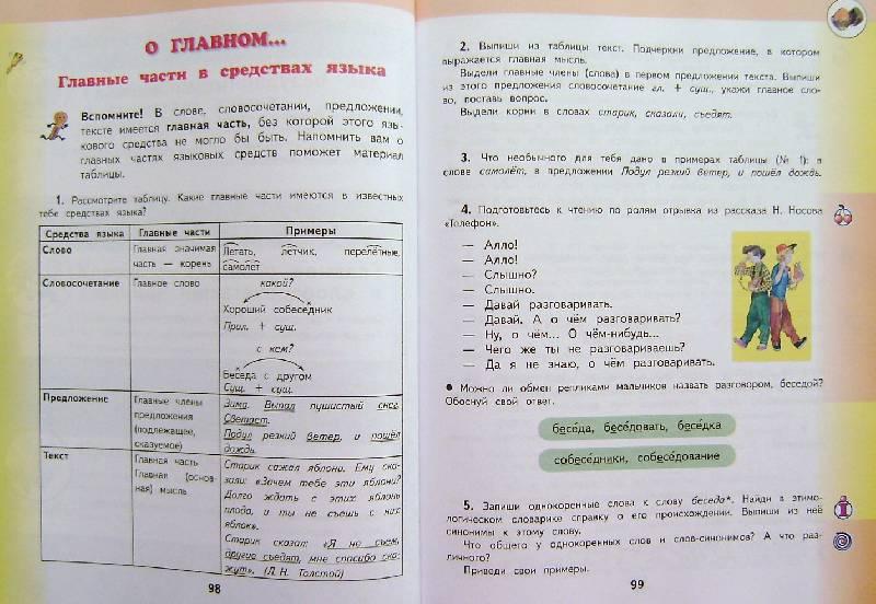 4 калинина ответы класс русскому 1 решебник языку желтовская по часть