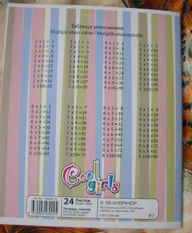 """Иллюстрация 1 из 3 для Тетрадь """"Cool girls"""" 24 листа, клетка (721044-35)   Лабиринт - канцтовы. Источник: Касьянова Оксана Владимировна"""