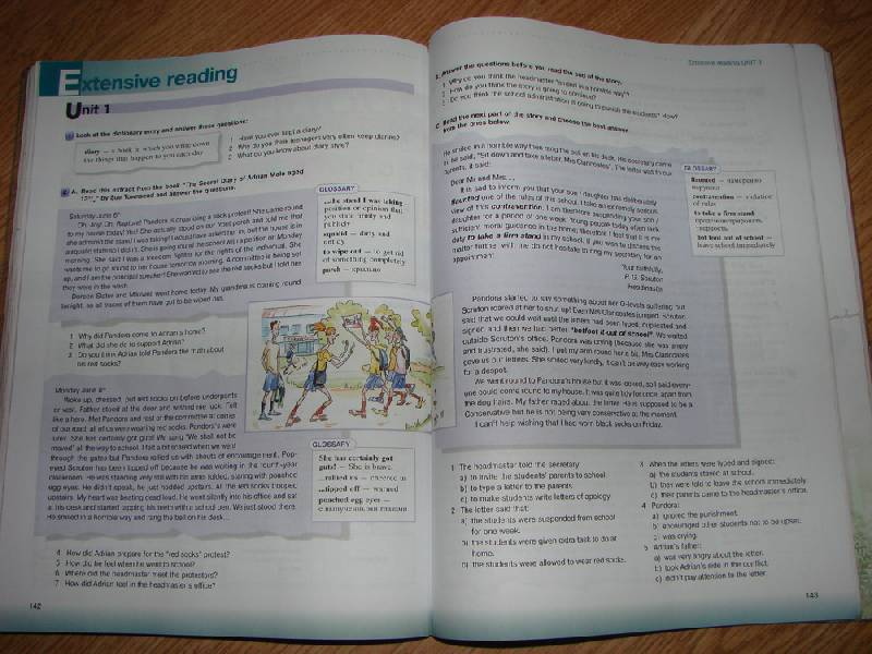 english millennium 10 new учебника класс решебник