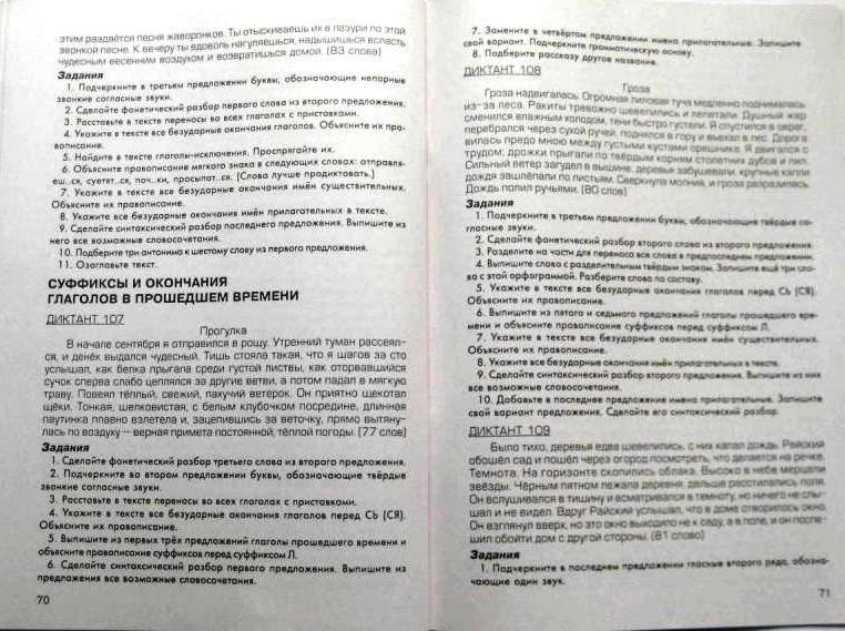 Решебник Русский Гроза