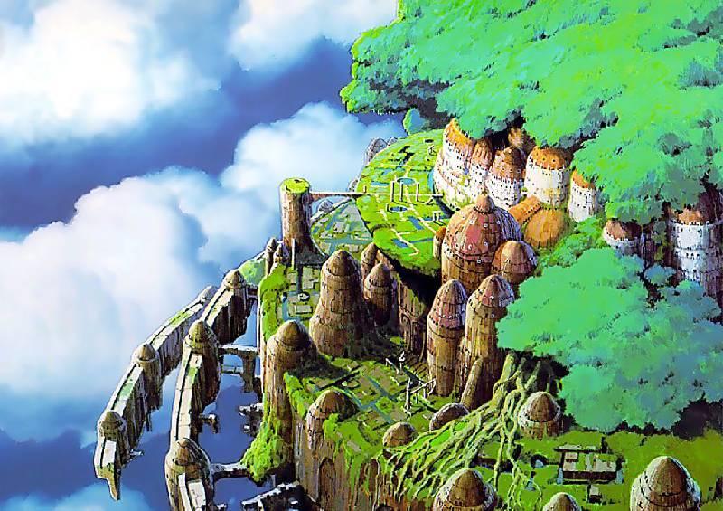 Иллюстрация 1 из 7 для Небесный замок Лапута (2DVD) - Хаяо Миядзаки | Лабиринт - видео. Источник: Neige