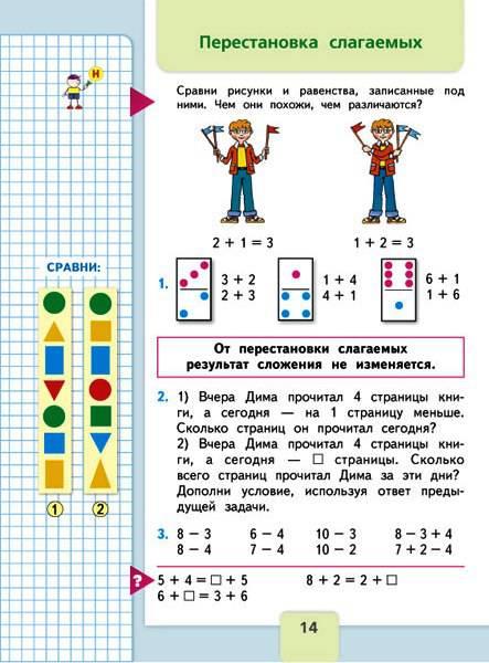 Математика 1 класс страница 32