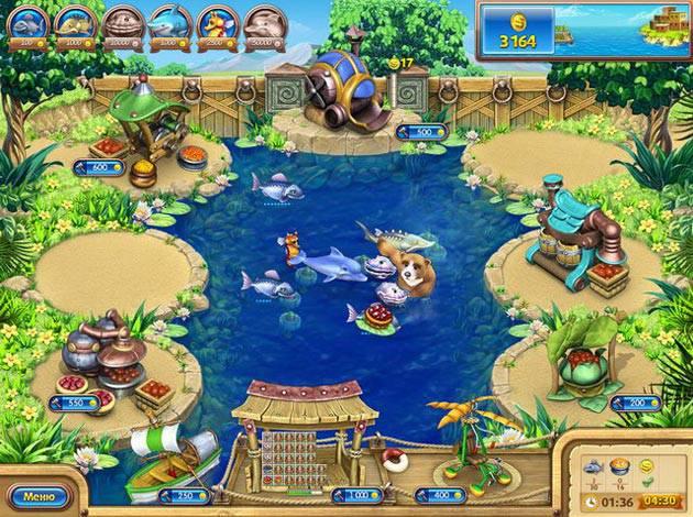 Иллюстрация 1 из 4 для Веселая ферма 3. Рыбный День (CDpc) | Лабиринт - софт. Источник: Змей Горыныч