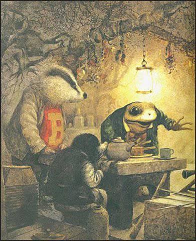 Иллюстрация 82 из 116 для Ветер в ивах. Сказочная повесть - Кеннет Грэм | Лабиринт - книги. Источник: М-и-л-е-н-а