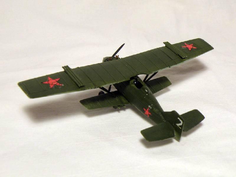 Иллюстрация 1 из 7 для 7271/Советский самолет АНТ-5 (И-4, И-4z) | Лабиринт - игрушки. Источник: Деменков  Евгений