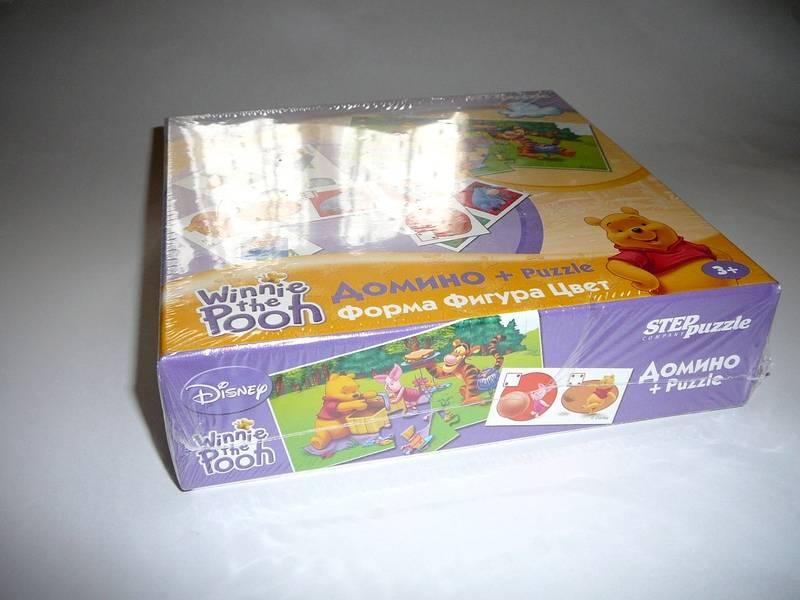 Иллюстрация 1 из 4 для Домино+Puzzle (80102) Винни. Фигура, форма, цвет   Лабиринт - игрушки. Источник: Анна Ванна