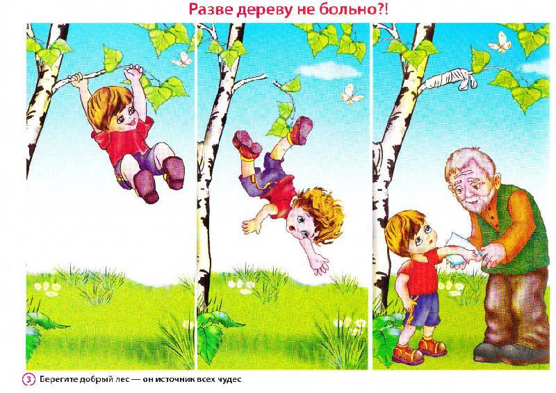 задания в картинках по экологии для дошкольников