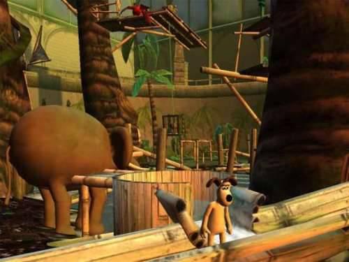 Иллюстрация 1 из 3 для Уоллес и Громит. Ужасная зоопарка (DVDpc)   Лабиринт - софт. Источник: Rocky