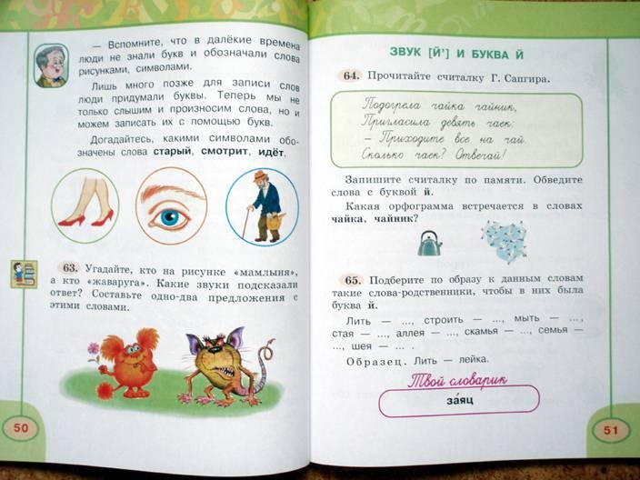 Гдз по русскому языку 4 класс климанова бабушкина учебник 2