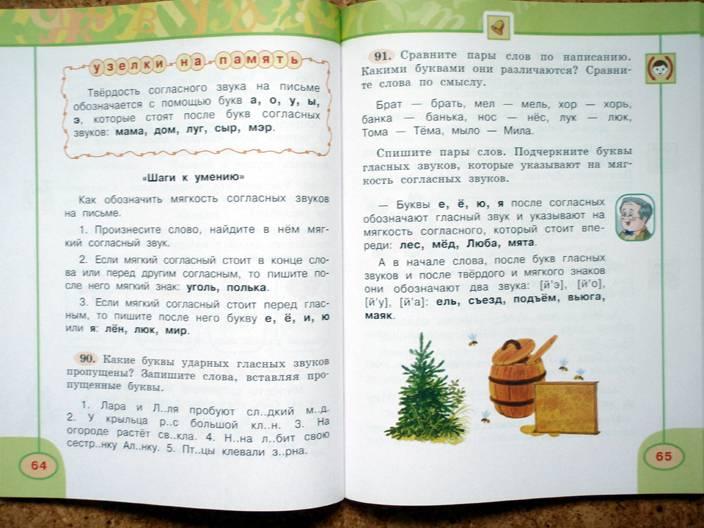 русскому 2 за класс часть по климанова 4 гдз учебник языку