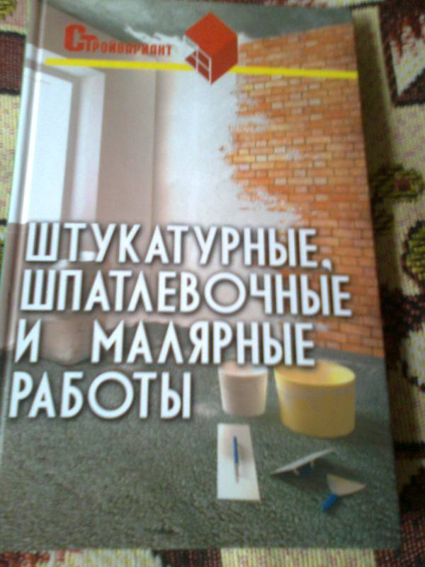 Иллюстрация 1 из 5 для Штукатурные, шпатлевочные и малярные работы - Вадим Руденко   Лабиринт - книги. Источник: Olga V