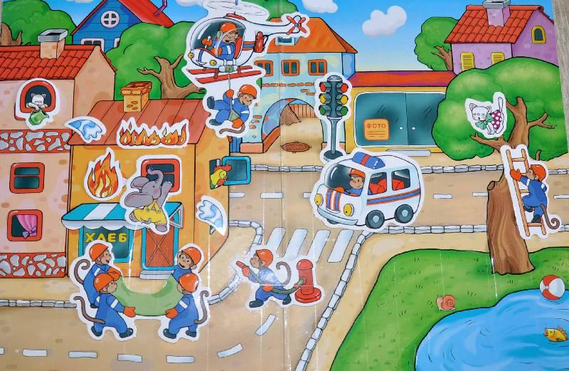 Иллюстрация 1 из 3 для MG (Игры на магнитах): Спасатели | Лабиринт - игрушки. Источник: Tatty