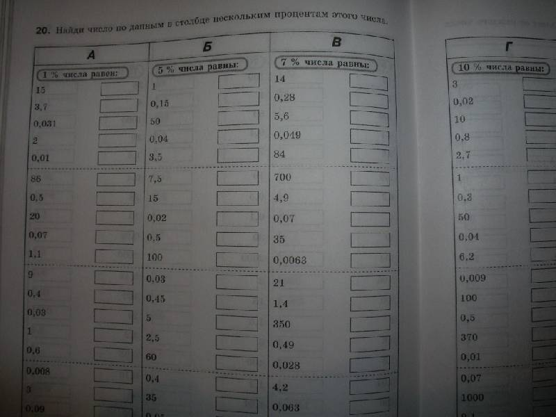 Решебник по математическому тренажеру 6 класс жохов