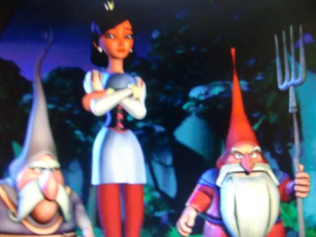 Иллюстрация 1 из 6 для Новая история Белоснежки (DVD) - Герзон, Кирклэнд | Лабиринт - видео. Источник: Лимпи
