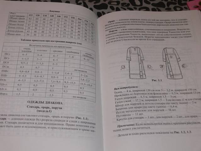 Иллюстрация 1 из 15 для Пошив церковных облачений, монашеской одежды и изготовление изделий для убранства храма | Лабиринт - книги. Источник: Irbis