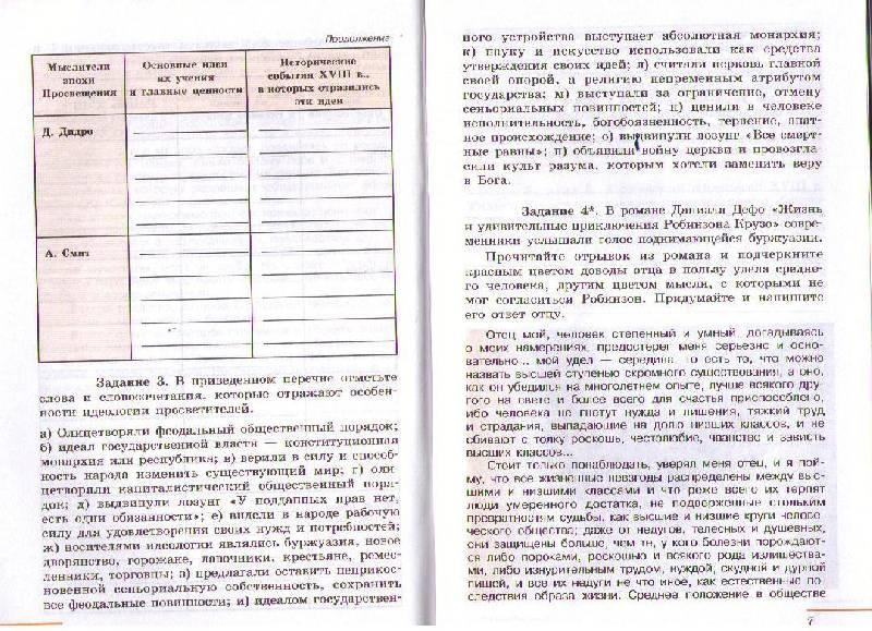 Тетрадь история россии 7 класс юдовская