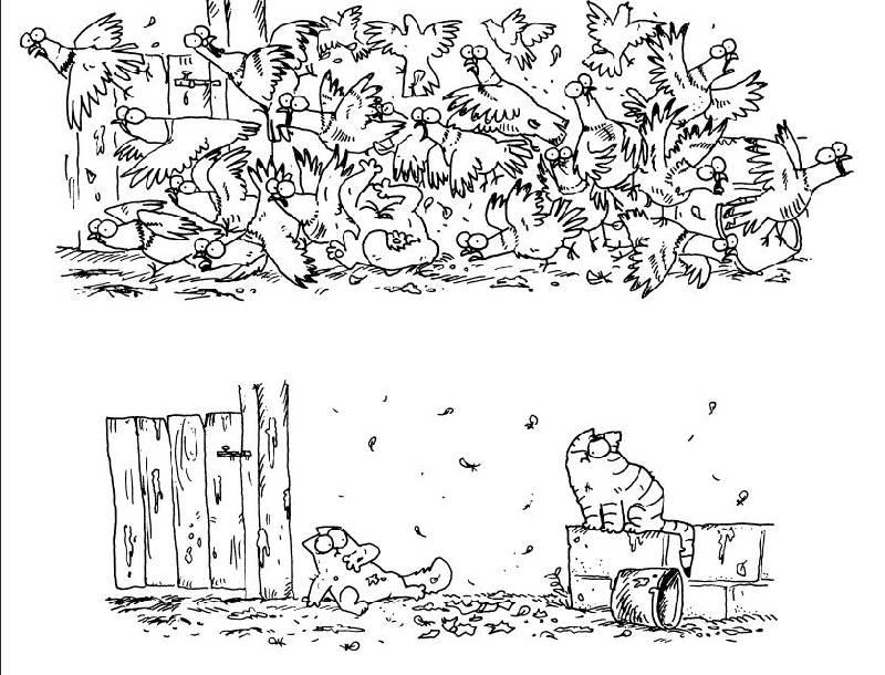 Кот саймона сам себе книга скачать