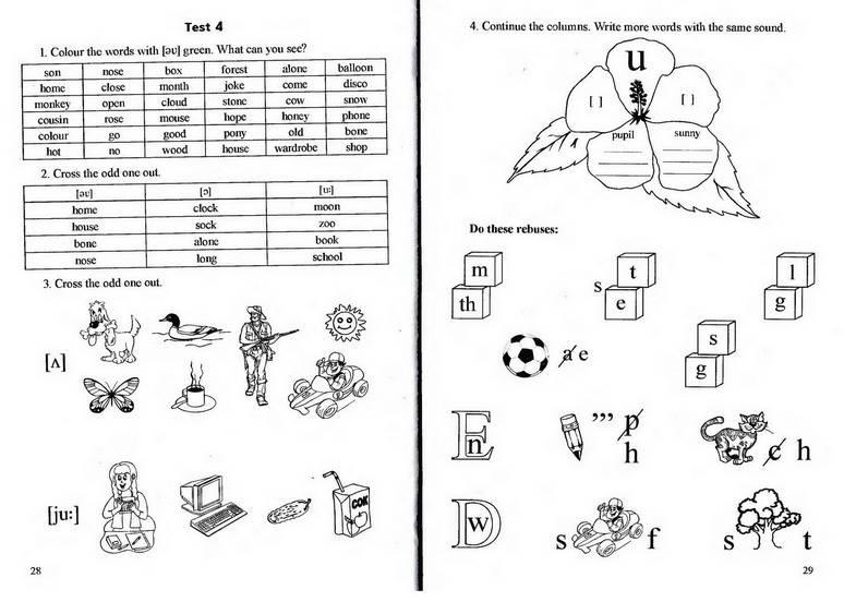 Упражнения для изучения английского языка фото