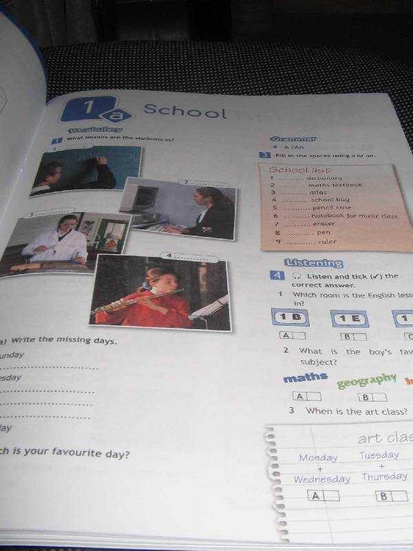английский в фокусе 5 класс рабочая тетрадь решебник скачать