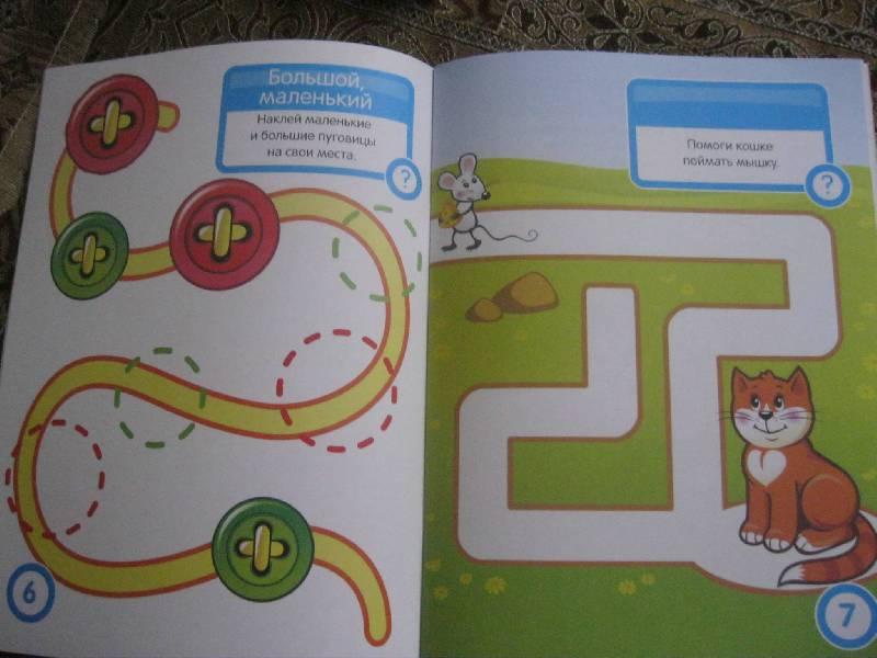 Иллюстрация 13 из 25 для Логика. Развивающая книга с наклейками - С. Разин | Лабиринт - книги. Источник: Radistka_kat