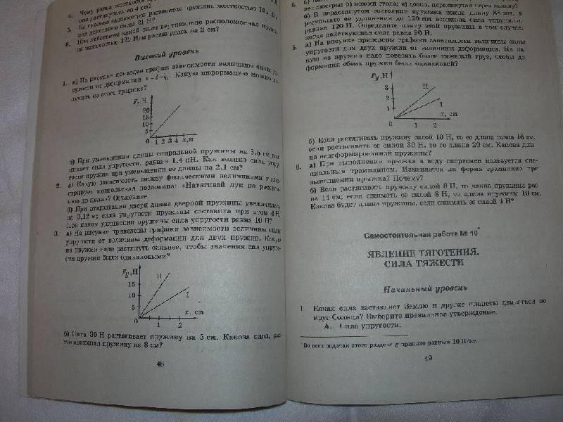 классах эвенчик работы контрольные по в 7-11 решебник физике