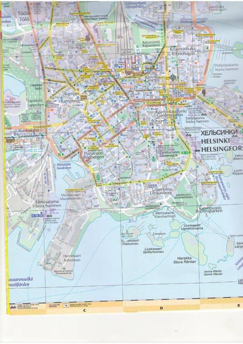 Есть карта транспорта