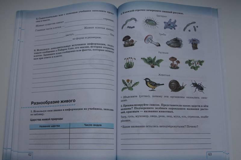 Оглавление учебника природоведение 5 класс плешаков а.а сонин н.и