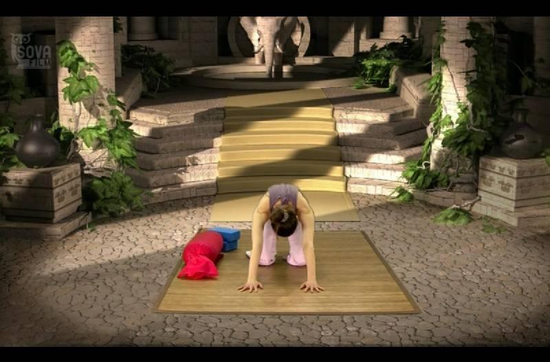 Иллюстрация 1 из 2 для Йога-терапия: Здоровая спина (DVD) - Игорь Пелинский   Лабиринт - видео. Источник: Куликова  Диана