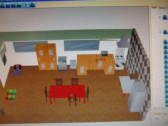 Иллюстрация 1 из 6 для Дизайнер интерьера: Кухня 3D (CDpc) | Лабиринт - софт. Источник: Лимпи