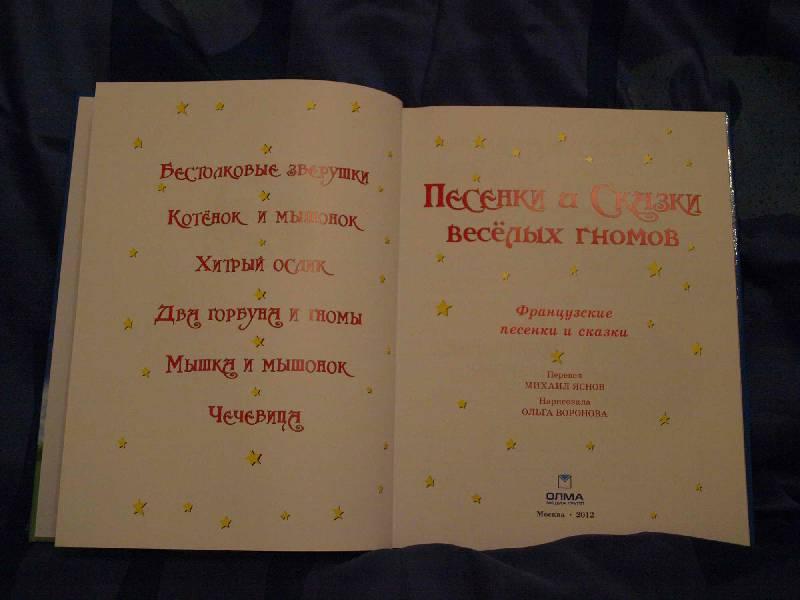 """Иллюстрация № 11 к книге """"Песенки и сказки веселых гномов"""", фотография, изображение, картинка"""