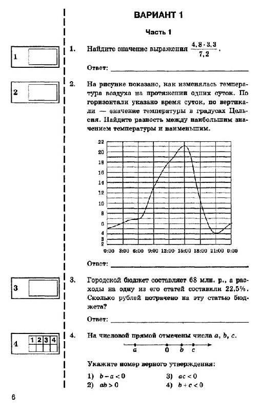 1 семенов по гиа решение математике 2016 ященко варианта