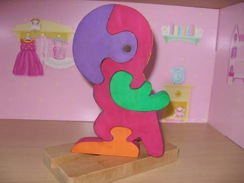 Иллюстрация 1 из 5 для Попугай пазл под роспись (Д-390) | Лабиринт - игрушки. Источник: Валька  Анна