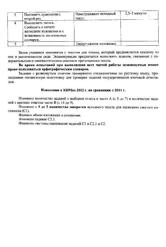 гдз русский язык 7 класс готовимся к гиа драбкина субботин ответы