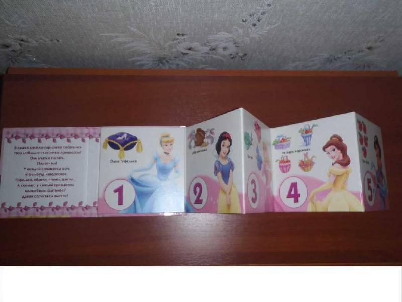 Иллюстрация 1 из 2 для Принцессы считают. Книжка-раскладушка | Лабиринт - книги. Источник: КетринЮ