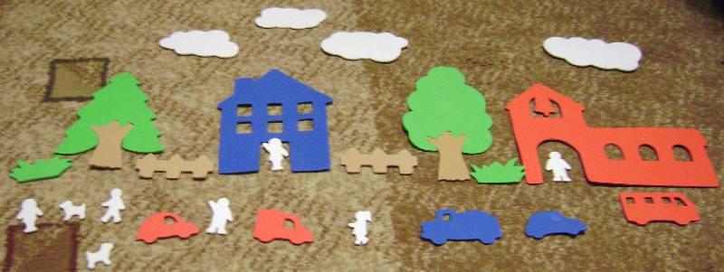 Иллюстрация 1 из 5 для Мягкий конструктор. Городок (083015) | Лабиринт - игрушки. Источник: Batterfly