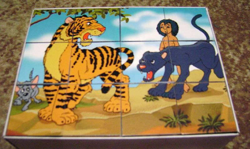 Иллюстрация 1 из 6 для Кубики: Маугли (05192, 0529)   Лабиринт - игрушки. Источник: Batterfly