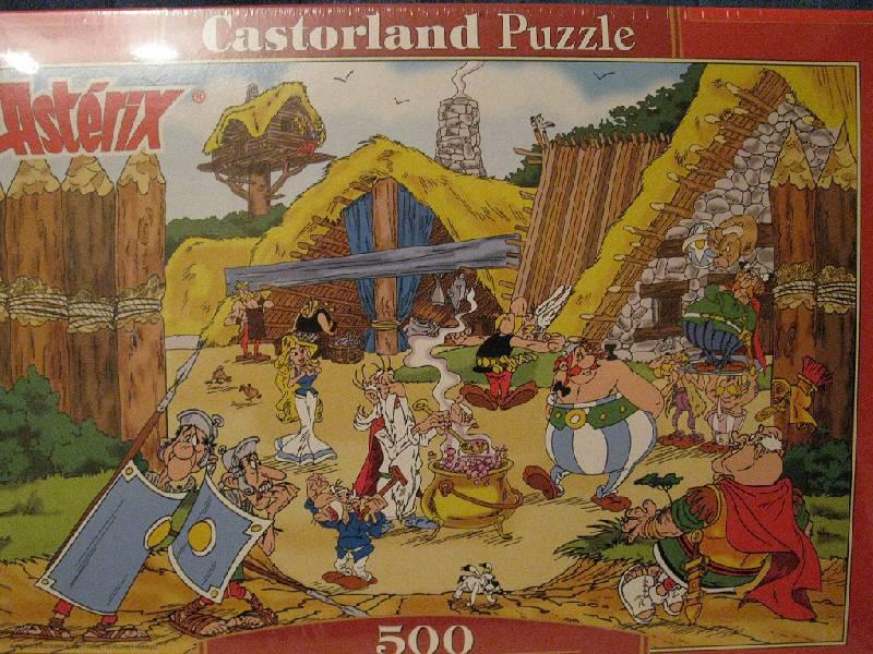 """Иллюстрация 1 из 5 для Pazzle-500. """"Asterix"""". Римская разведка (B-PU50074)   Лабиринт - игрушки. Источник: Кавжарадзе Алла"""