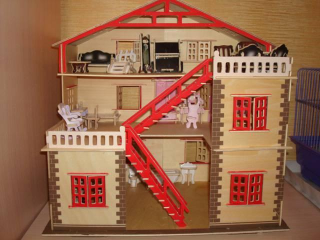 Сборный домик для кукол