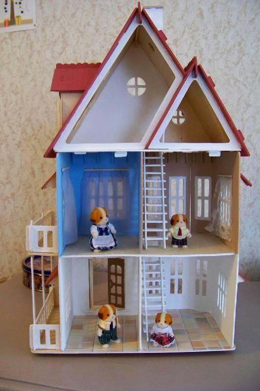 Сборная модель Сказочный дом (DH001)