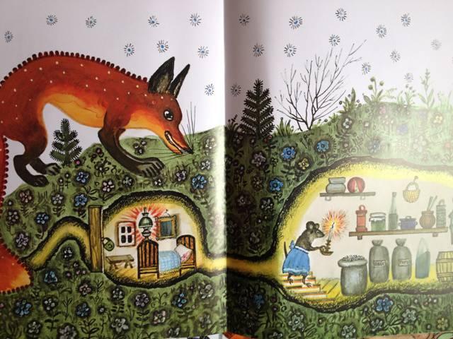 Иллюстрация 133 из 139 для Лис и мышонок - Виталий Бианки | Лабиринт - книги. Источник: Лёна  алена