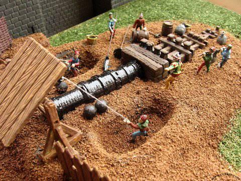 Иллюстрация 1 из 4 для Средневековая тяжелая бомбарда (8032) | Лабиринт - игрушки. Источник: Гурков Алексей Владимирович