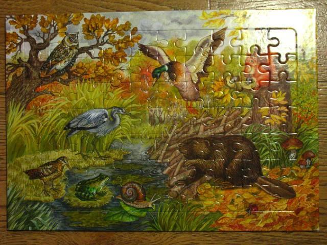 Иллюстрация 1 из 5 для Развивающие рамки. Времена года. Осень   Лабиринт - игрушки. Источник: kolobus