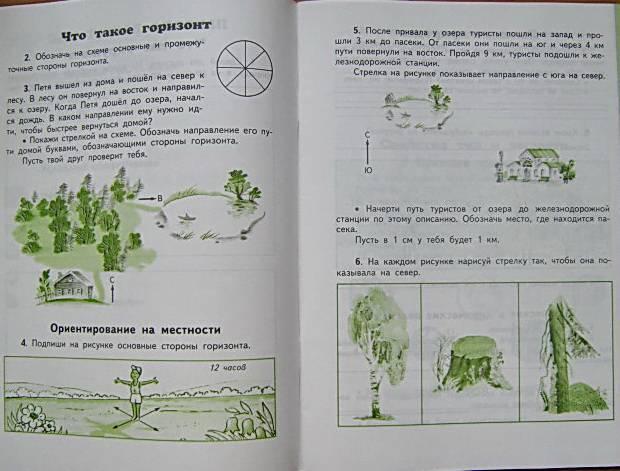Гдз по окружающий мир 3 класс рабочая тетрадь 1 часть ивченкова